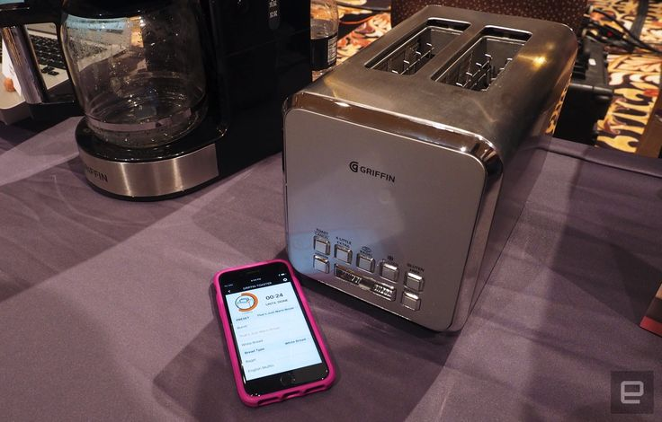 Griffin connects your toast to your phone