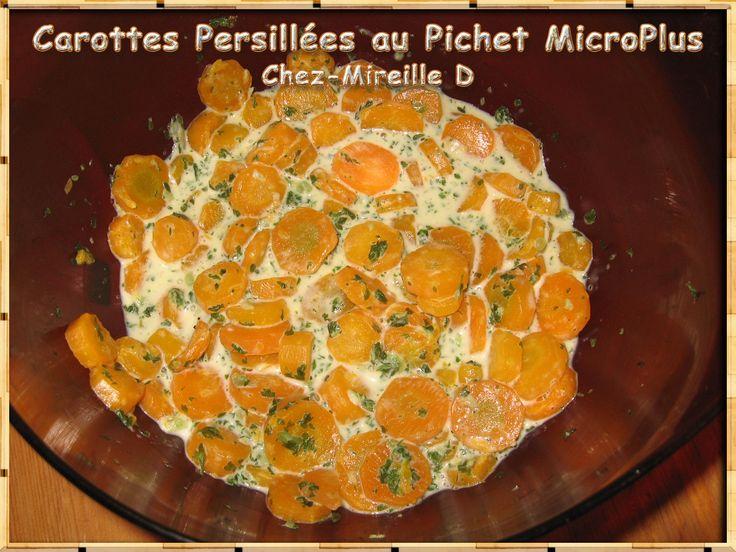 Carottes persillées dans le Pichet MicroPlus