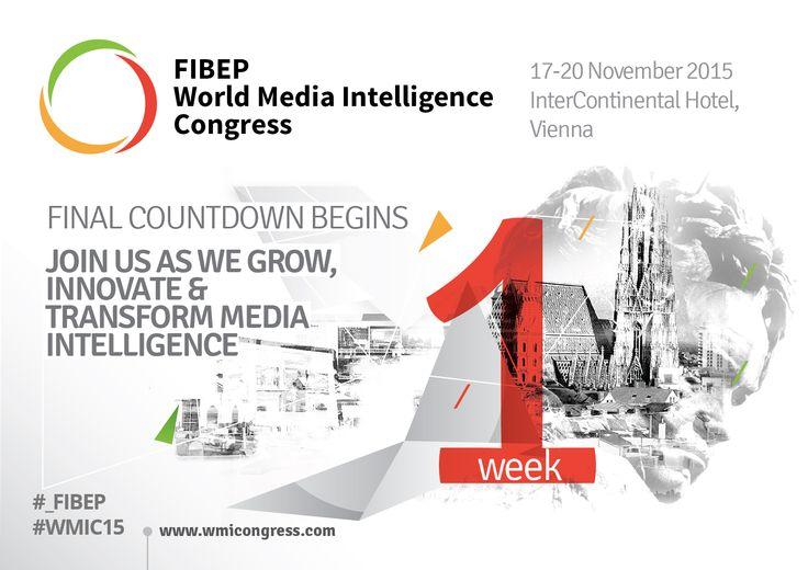 1 week until the #_FIBEP #WMIC15 in #Vienna, 17-20 November, 2015.