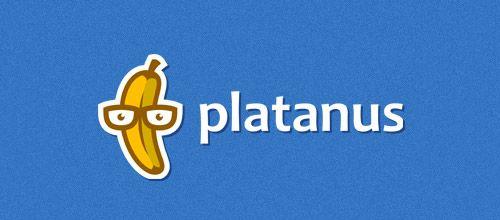 platanus banana logo designs
