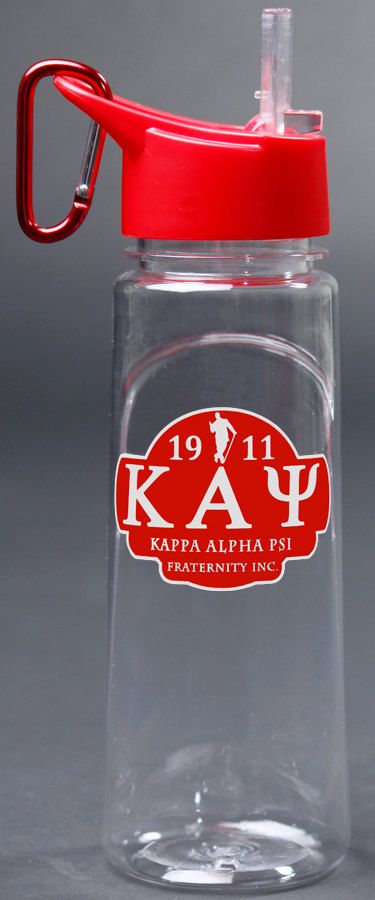 Hey, I found this really awesome Etsy listing at https://www.etsy.com/listing/185298651/kappa-alpha-psi-water-bottle