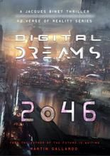 Digital Dreams 2046. A Jacques Binet Thriller. #2 VERGE OR REALITY - Martin Gallardo #scifi #sciencefiction #scifibook #sciencefiction #books #bookcover #bookcoverdesign