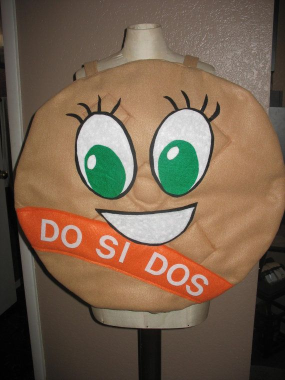 Girl Scout DO SI DOs Cookie Costume One size fits by LauriesGift, $44.00