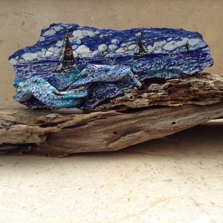 Driftwood/driftwoodart/beachdecor/handmade