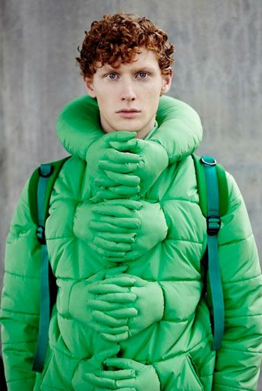 Hands Hug Jacket - everyone needs a hug now and then........