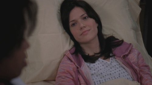 Favorite Guest Star  I loved when Mandy Moore was guest starring on Grey's Anatomy. She had to play such a good role, because I'd be scared beyond belief if that was me too. But she pulled it off very nicely and as a plus, she's really cute!