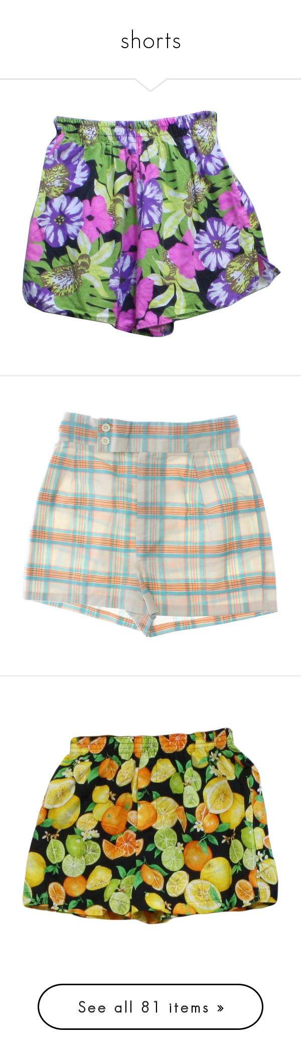 """shorts"" by crybabying ❤ liked on Polyvore featuring swimwear, bikinis, bikini bottoms, shorts, bottoms, pants, clothes - shorts, pink swimsuit, retro bikini and white bikini bottoms"