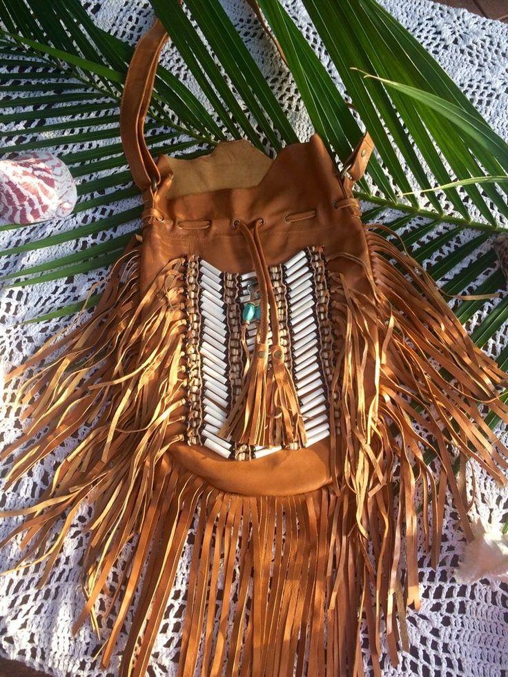 Large Navajo Fringe Bag   | eBay