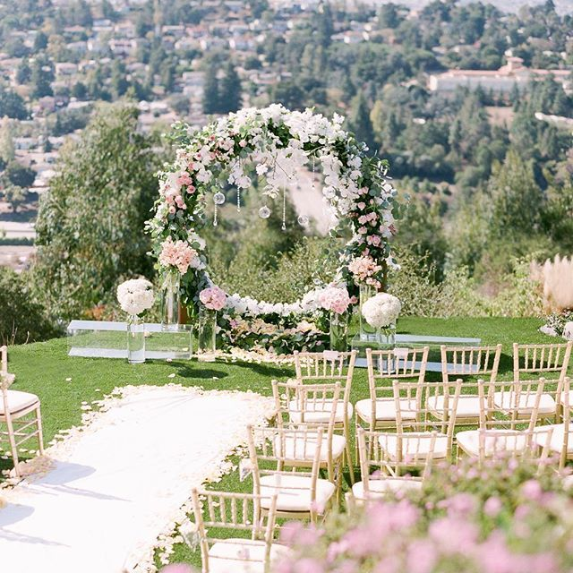 This Floral Ring Made The Most Jaw-dropping Ceremony