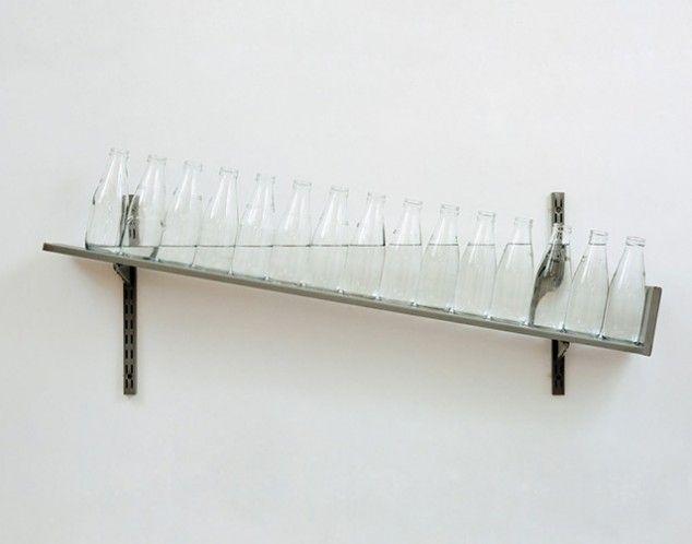 2 art installations that put gravity to intriguing use. Michael Craig-Martin.