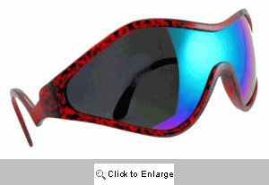 Vail Ski Wraps Sunglasses - 543 Red