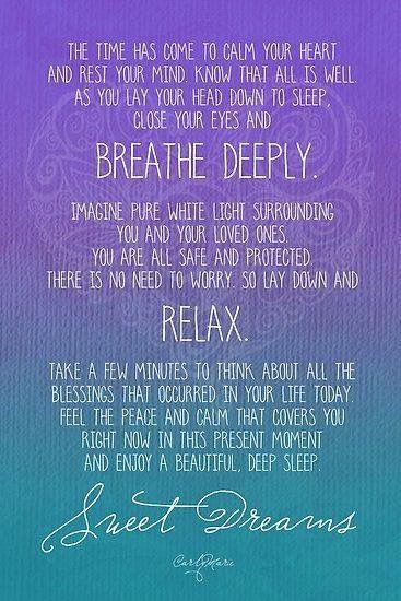 Night Time Meditation