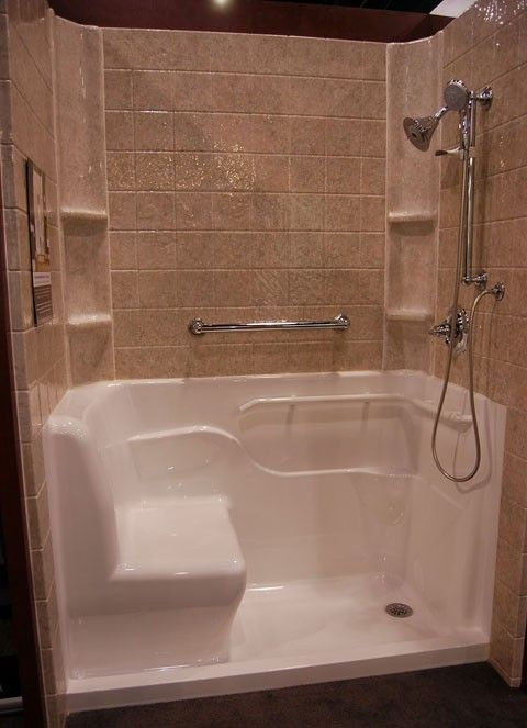 Shower Stall Designs | This Beautiful Shower Stall Has Many Great  Accessibility Design .