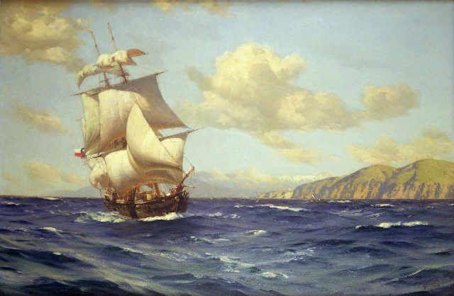 Thomas J. Somerscales - Esmeralda, 1908