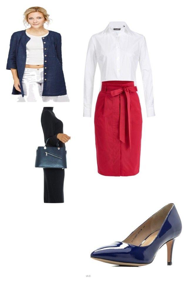 """сет2/2"" by allvira on Polyvore featuring мода, Dolce&Gabbana, Isabella Rhea и Mascotte"