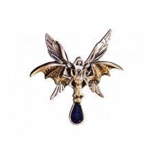 Amulet - Netopýří jezdkyně Víla přilétající na křídlech netopýra z půlnočních hlubin snů, přinášející zprávy z Vašeho podvědomí.