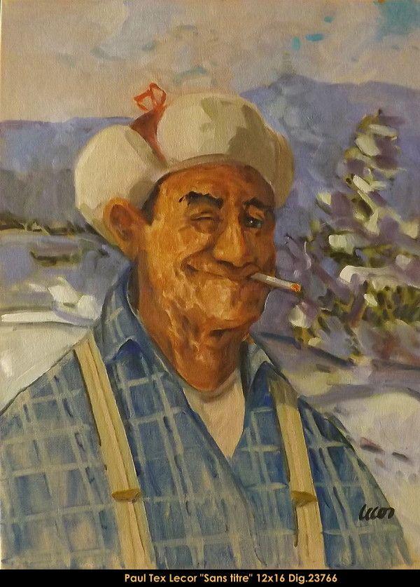 Paul Tex Lecor original oil painting on canvas#originalpainting