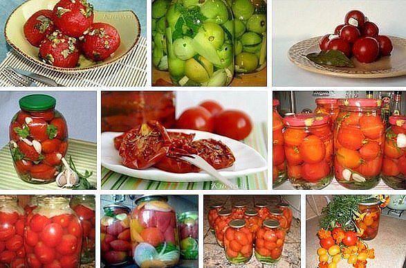 10 Рецептов вкусненьких помидорчиков!