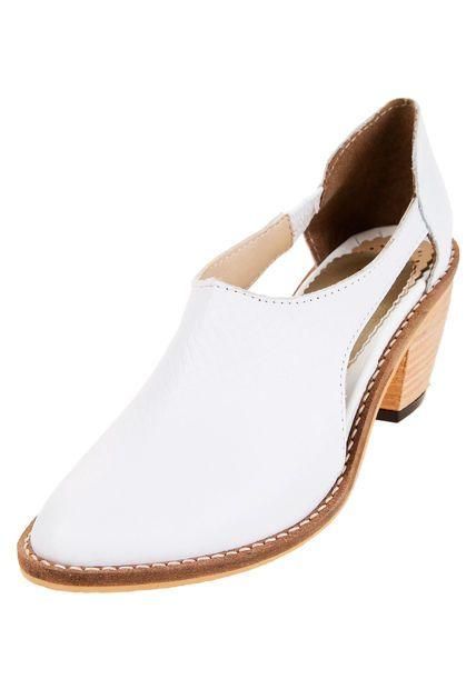 Me encanta! Miralo! Zapato Blanco Foglia Megan  de Foglia en Dafiti