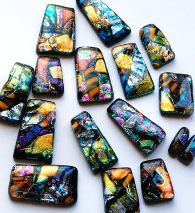Calyx Glass Blog: How to Make Layered Dichroic Jewelry - Part 2