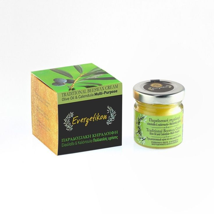 Traditional Beeswax Cream 40ml With Olive Oil and Calendula. Multi-Purpose. #Evergetikon