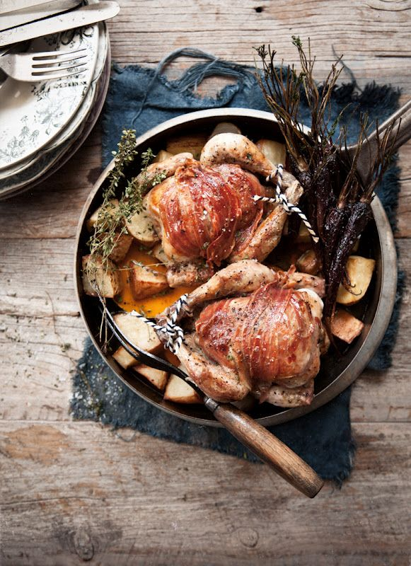 36 best medieval feast recipes images on pinterest medieval pancetta and thyme poussins with roasted vegetable broth forumfinder Image collections