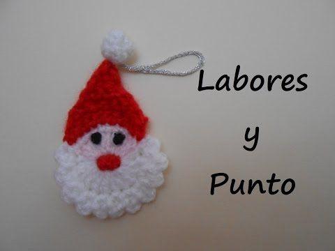 Aprende a tejer un Papa Noel o Santa Claus reversible a ganchillo - YouTube