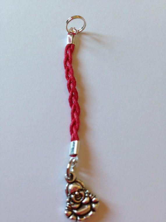 Lucky Buddha bag charm | Buddha zipper charm | Red string of fate | Buddha gift | Lucky buddha good luck charm | Purse charm | Buddha charm
