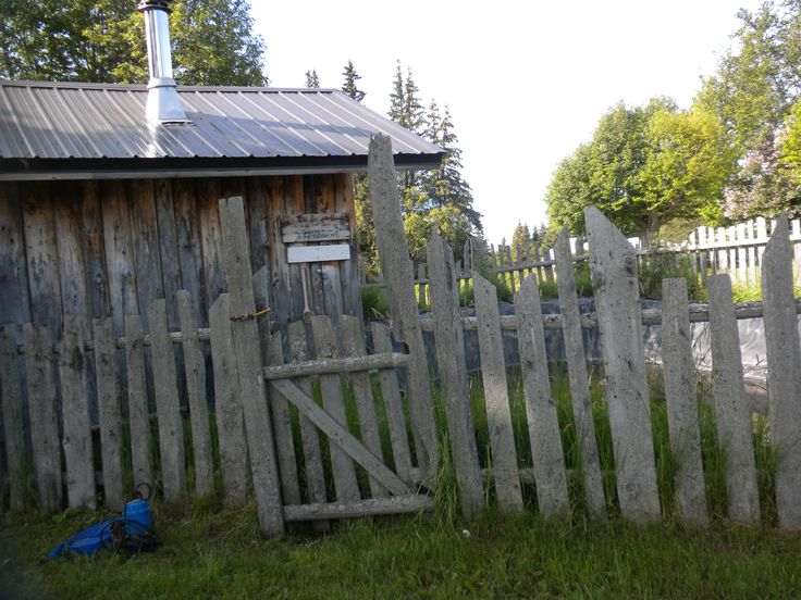The sauna at the original cabin on the kilcher homestead for How to get a homestead in alaska