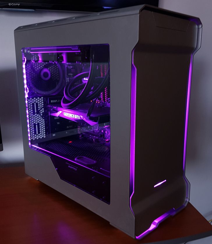 Phanteks Evolve ATX - Frontal illumination + RBG Led - Album on Imgur