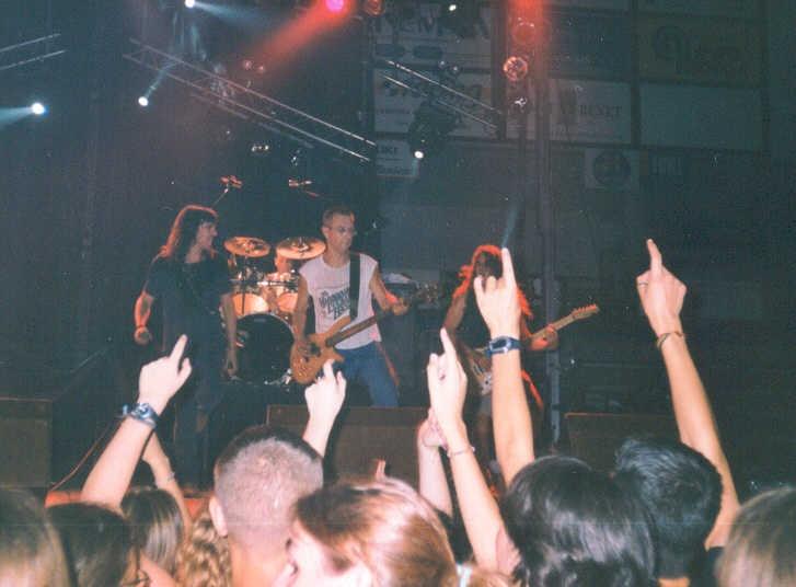 Concert a Manresa al 2001