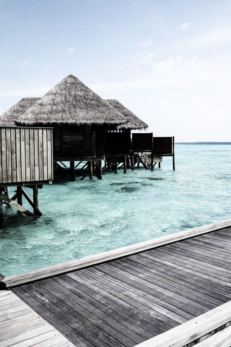 A beautiful water villa in the Maldives, Indian Ocean. I N S T A G R A M @EmilyMohsie