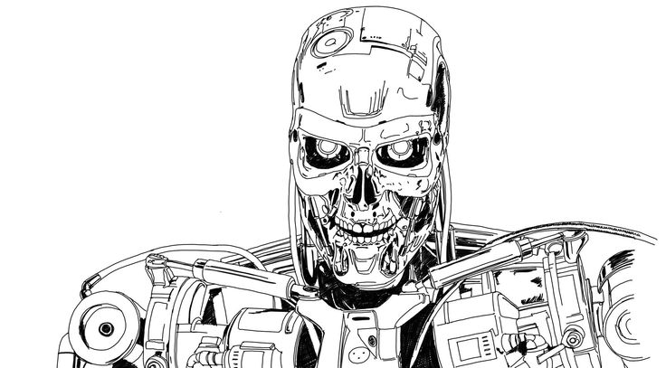 Terminator b/n