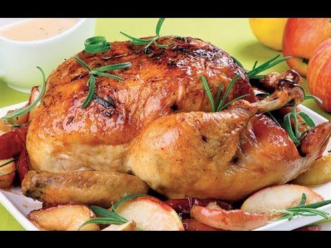 Cena navideña. Pollo con manzanas. Easy Chicken Recipe for Christmas. EcoDaisy - YouTube
