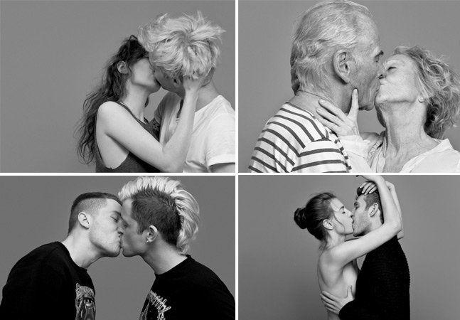 Numa mistura de amor e amizade, o fotógrafo Ben Lambertyteve uma ideia interessante: registrar casais e amigos no maior beijo. Tudo começou quando ele pediu para que seus camaradas se voluntariassem para a série de fotos, fossem namorados, casados ou apenas bons amigos. Embora as imagens aparentem muito mais do que isso, Lamberty garante que todos foram apenas bons personagens na hora do clique. A ideia principal era que as pessoas se soltassem durante a sessão de fotos, para que a emoção…