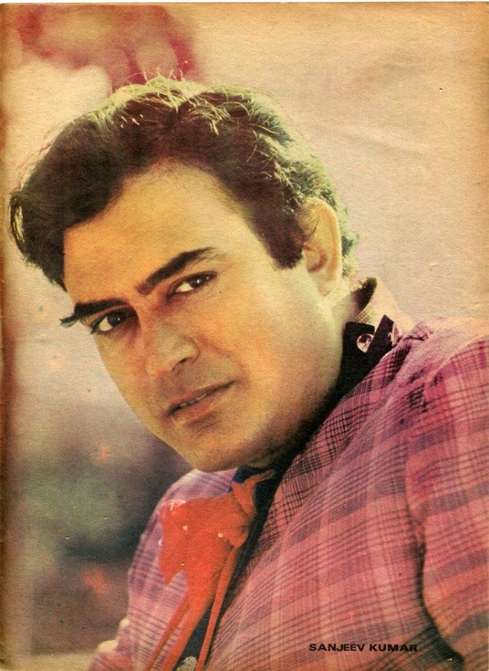 That look! Sanjeev Kumar, the star and the thespian of Bollywood.