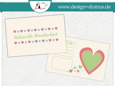 Karten mit Pflegehinweisen. Ideal für Märkte und Laden.  Erhältlich bei http://shop.design-domus.de/Geschaeftsausstattung/Textilkennzeichnungen/Textilkennzeichnung-Herzig::29.html