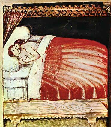 """En el mundo medieval infancia y adolescencia se unen en una sola etapa, la de la virginidad… es considerada una etapa transitoria, incompleta, preparatoria para la siguiente, que se caracteriza por la reproducción"""""""