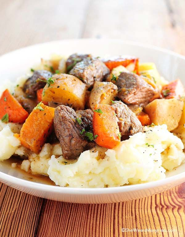 Beef Stew with Roasted Winter Vegetables | Recipe | Welcome winter ...
