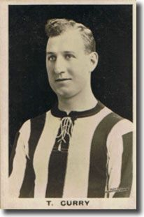 Tom Curry of South Shields. Footballer & coach. Died in the Munich air disaster.