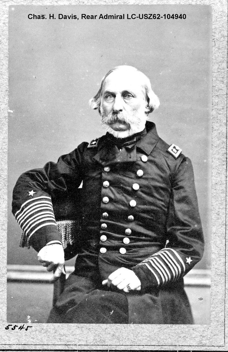 Charles Henry Davis was as a member of the conference to plan combined military and naval operations in Washington, 1861. His next duty was to command the Mississippi Flotilla in the summer of 1862, serving in the decisive battles of Fort Pillow and Memphis. http://www.amazon.com/Journal-Cavalry-Bugler-Georgiann-Baldino/dp/0985912332