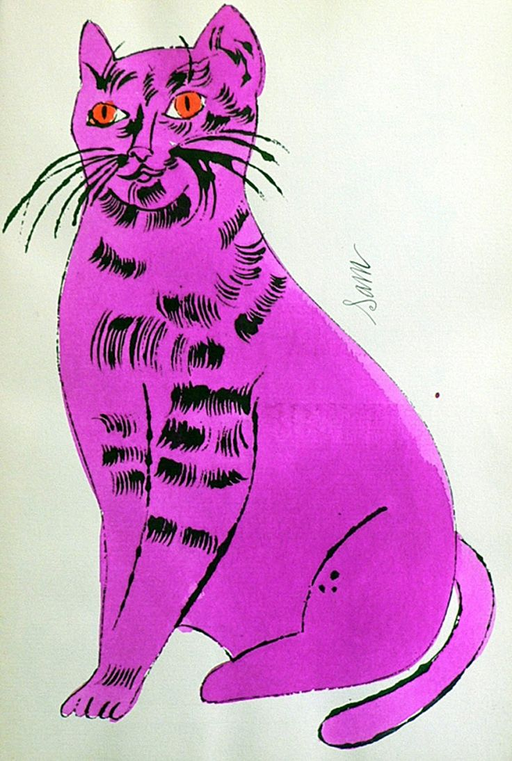 Do you love Andy Warhol's 'Cats Named Sam' series? OMG, same here!