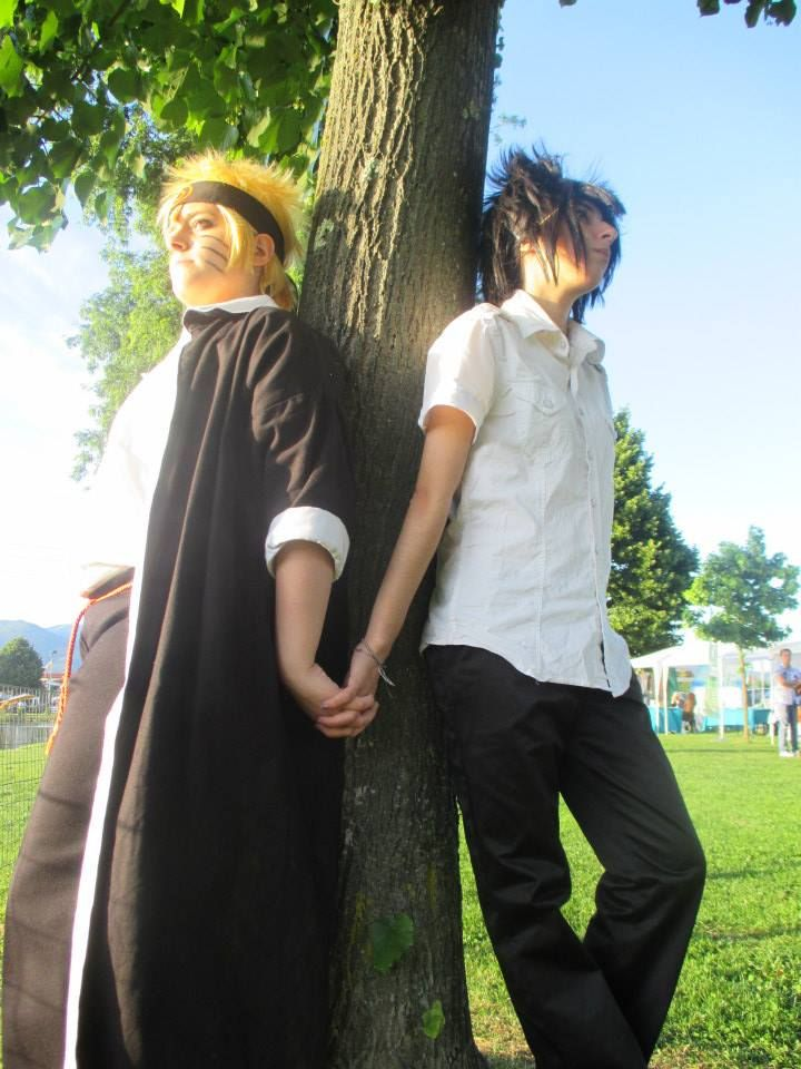 Yaoi: Sasuke & Naruto - Naruto Konoha High School