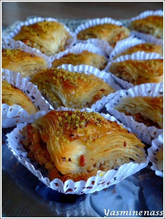 25 best recette baklawa pate filo ideas on p 226 te filo p 226 te 224 filo and filo