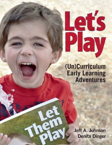 Some great ideas for child-centered play in here. Would love to do some un-programs with it.