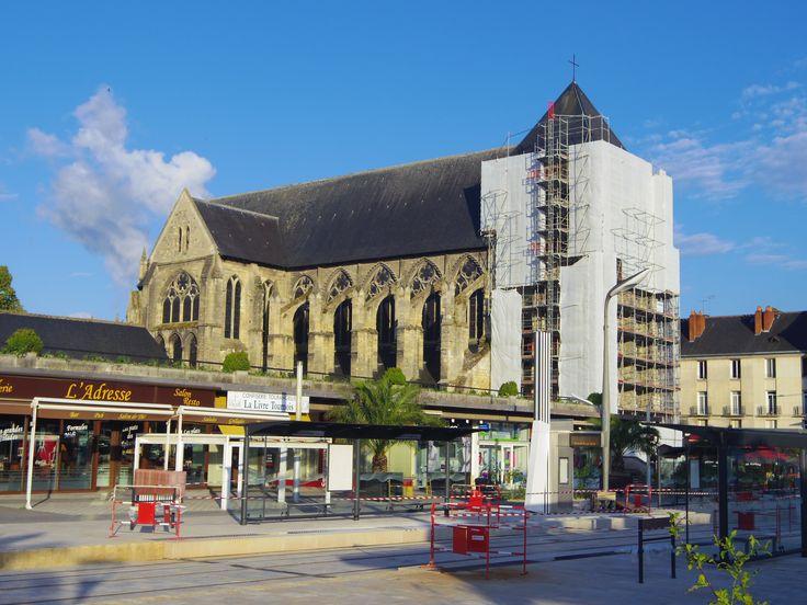Restauration de l'église Saint-Julien - 19 juin 2013 (Rue Nationale - Tours)