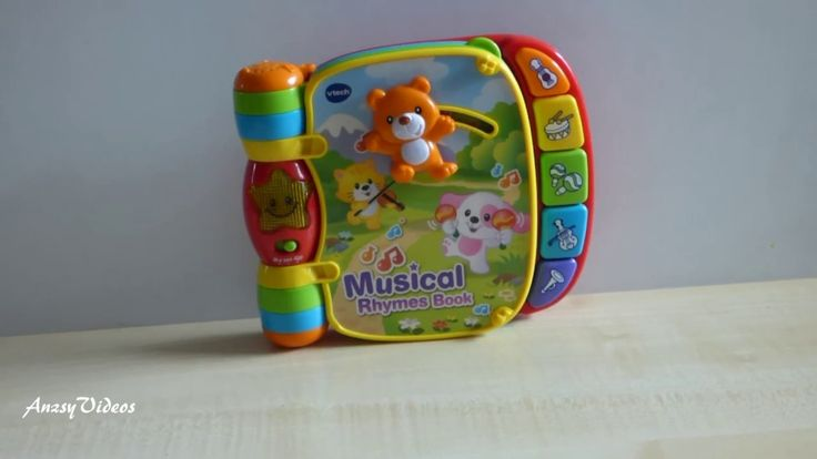 Vtech Baby Musical Rhymes Book - Multi-Coloured