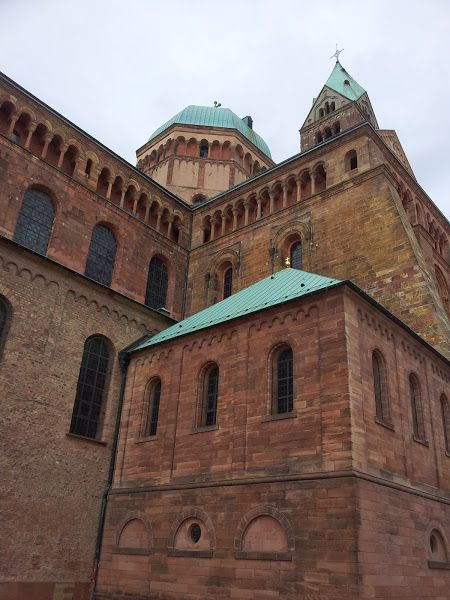 The magnificent cathedral of Speyer