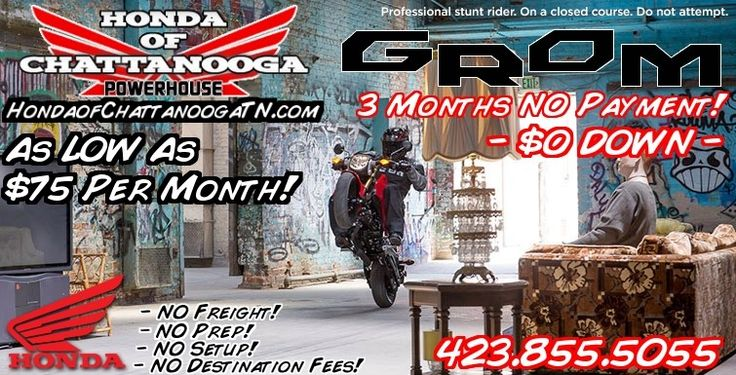 2015 Honda Grom For Sale / Chattanooga TN / GA / AL area Motorcycles