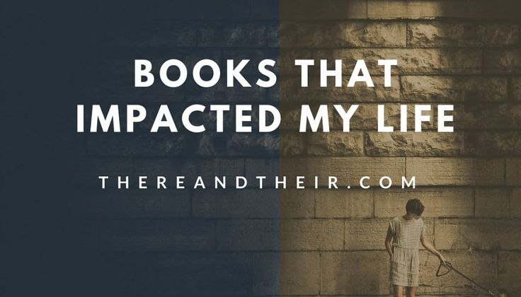 There are some books that shape your life. After reading them you just cannot go back to what you were before you read them. They have this…